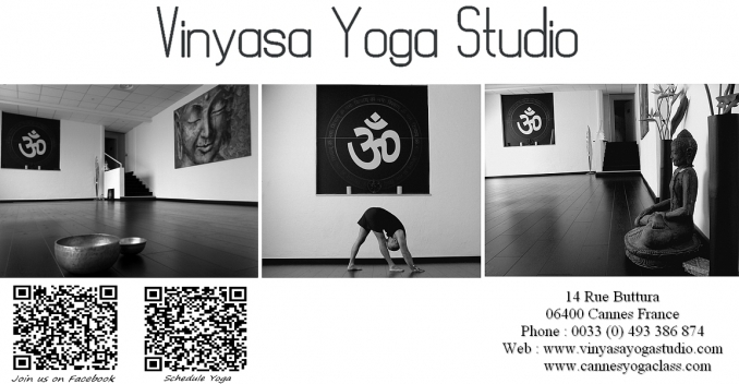 - Cannes Vinyasa Yoga School